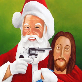 Jesus was fun, but Santa pays better.